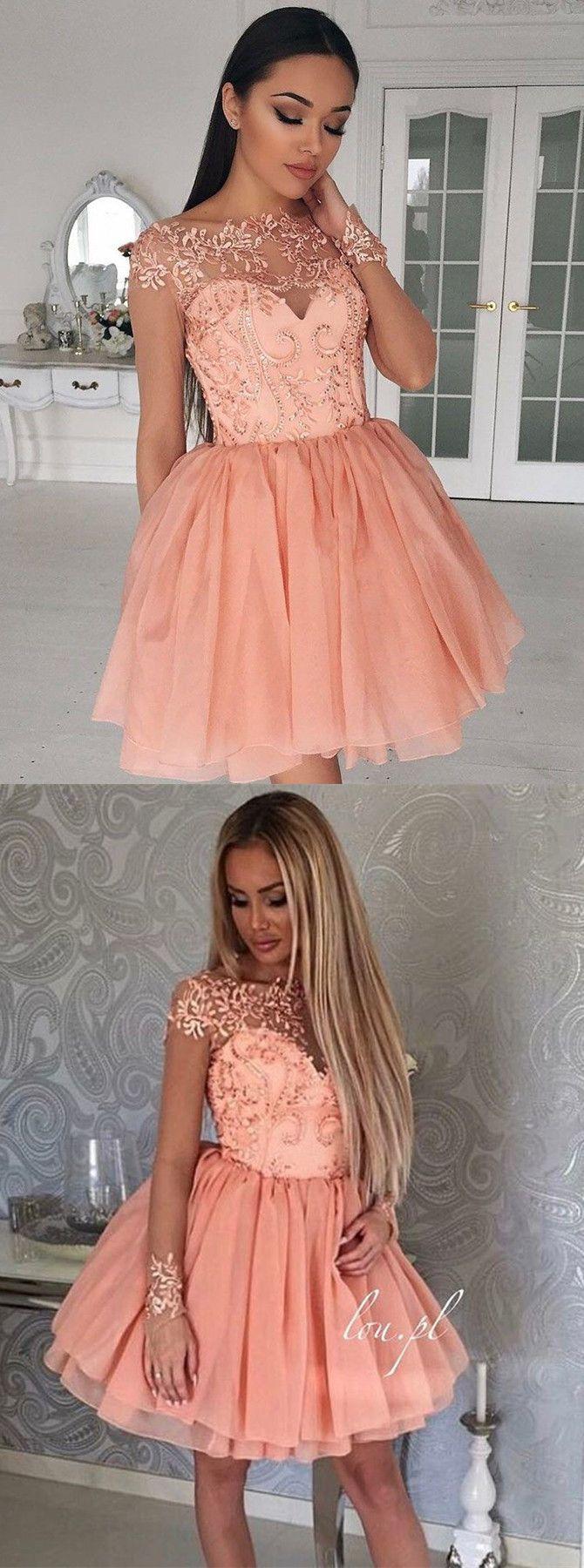 2017 homecoming dresses,homecoming dresses short,beaded homecoming dresses,coral homecoming dresses