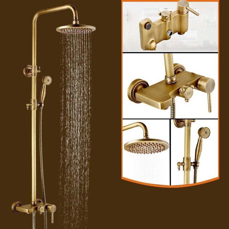 58 best Antique Brass Shower Faucet images on Pinterest | Antique ...