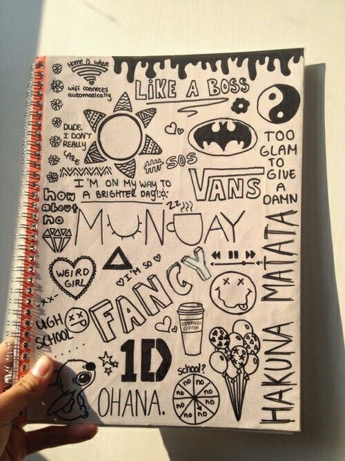 Pin By Havala Stanley On Art Notebook Doodles Easy