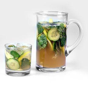 Tipsy Palmer a drunk arnold palmer - bourbon, cucumber, mint, ginger
