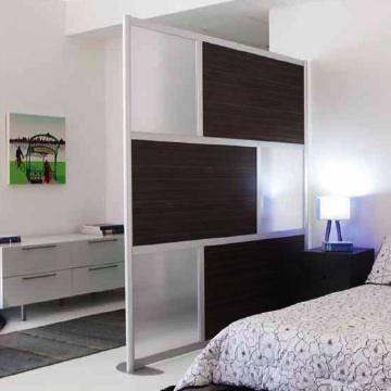 loft wall room divider