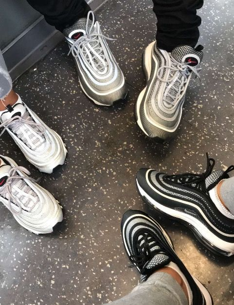 dc9eec47535 Mens size Nike AIR MAX 97 Black/White OG QS fake sneakers in 2019 ...