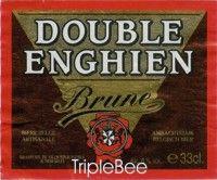 Label van Double Enghien Brune