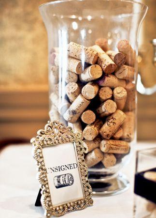11 Ways To Turn Wine Corks Into Wedding Decor - The Knot Blog