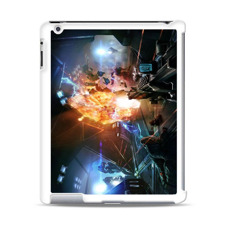 ALIEN FEAR GAME PICTURE iPad Case