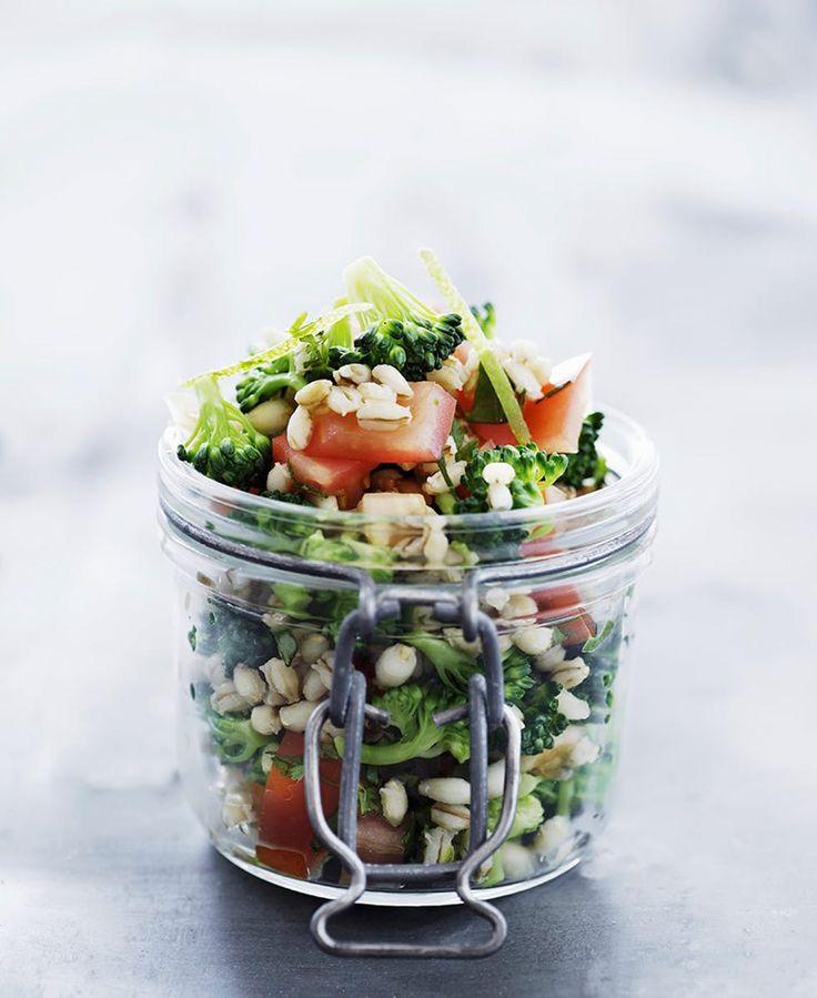 Oppskrift: Byggsalat med brokkoli
