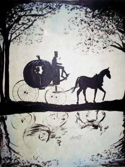 "Cinderella by Lamont Powell 22.1 ART PRINT / SMALL (13"" X 17"") $26.00"