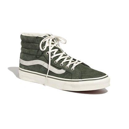 Madewell - Vans® SK8 Hi Slim Suede High-Tops