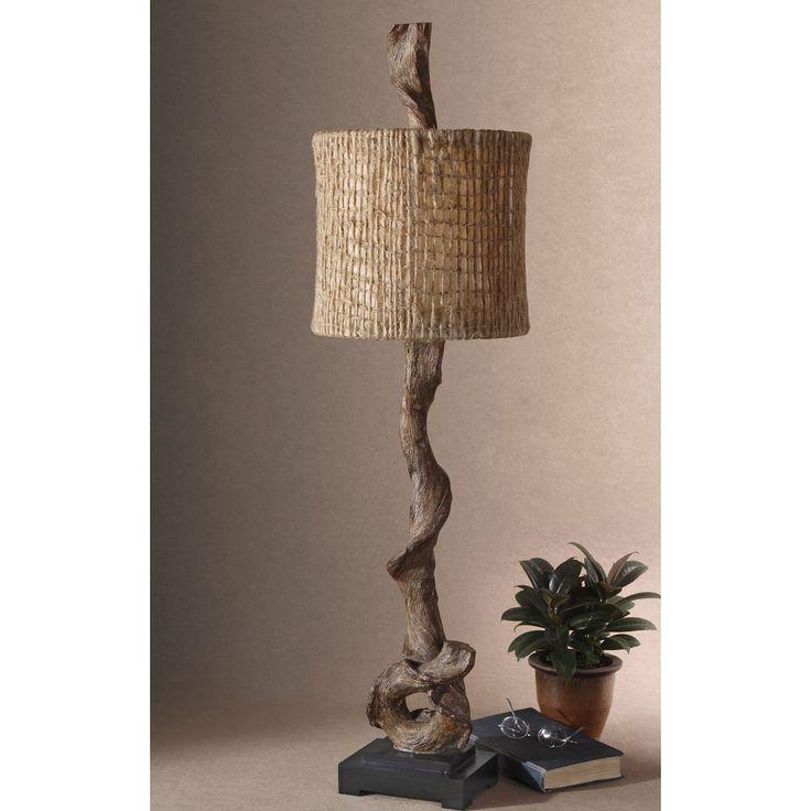 Uttermost 29163-1 Driftwood Buffet Lamp - 29163-1