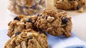 Walnut Blueberry Oatmeal Energy Bites