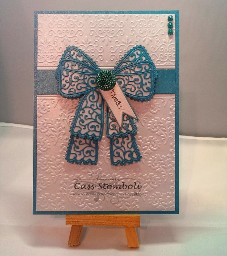 Pour Some Sugar On Me - Tattered Lace sample card for Craftworld