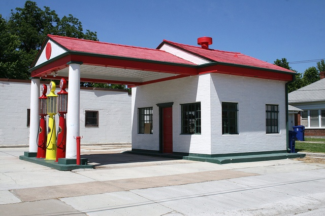 miami marathon oil company service station by Exquisitely Bored in Nacogdoches, via Flickr