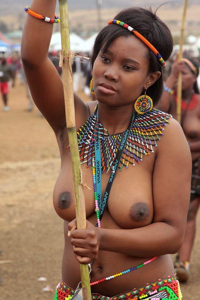 Zulu woman, South Africa.