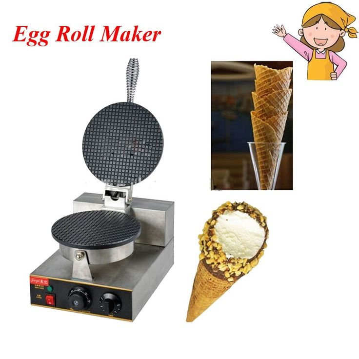 61.65$  Buy now - http://alixjr.worldwells.pw/go.php?t=32670966510 - 1pc Head Electric Crisp Ice Cream Cone Making Machine 110V/220V Waffle Maker for Ice Cream Cone FY-1A 61.65$
