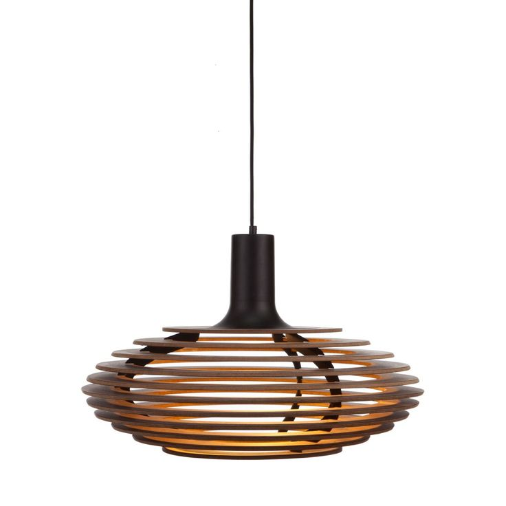 The Dipper Large Pendant Light uses layering to create a soft, diffused horizontal light. http://www.ylighting.com/decode-lighting-dipper-large-pendant-light.html