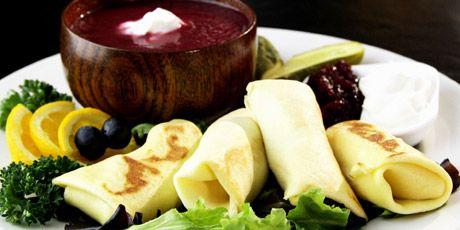 Sweet Potato Blintzes Recipes | Food Network Canada