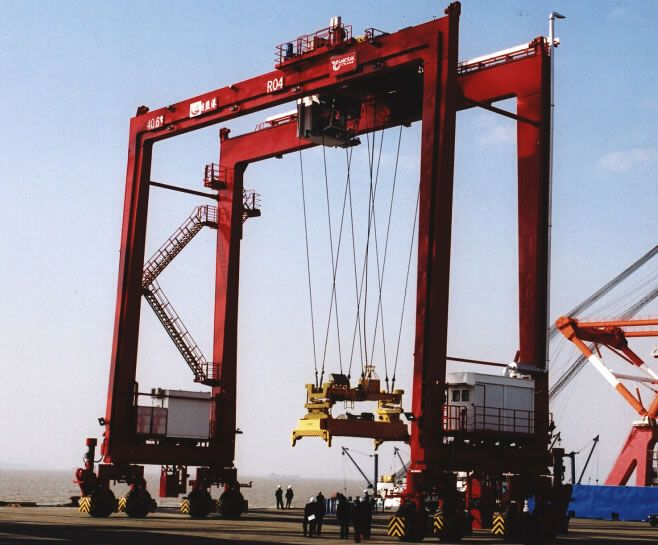 Rubber tyre quayside container gantry crane(RTG)generally includes - container crane operator sample resume