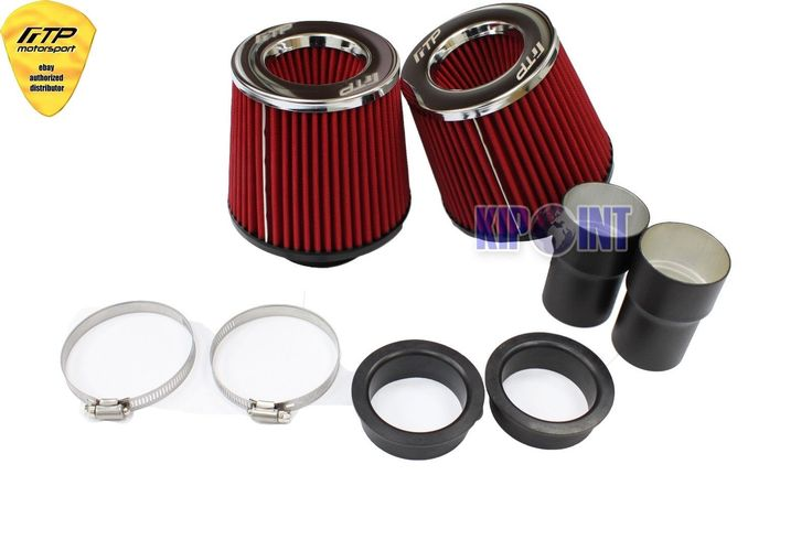 For BMW N54 135i 335i Air Filter Intake Bi-Turbo Dual Cone E92 E91 E90 E82 E87