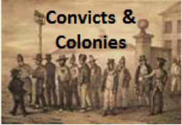 The Australian Colonies. Convicts and Colonies.