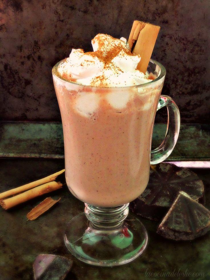 Atole de Chocolate (Mexican Hot Chocolate Atole)