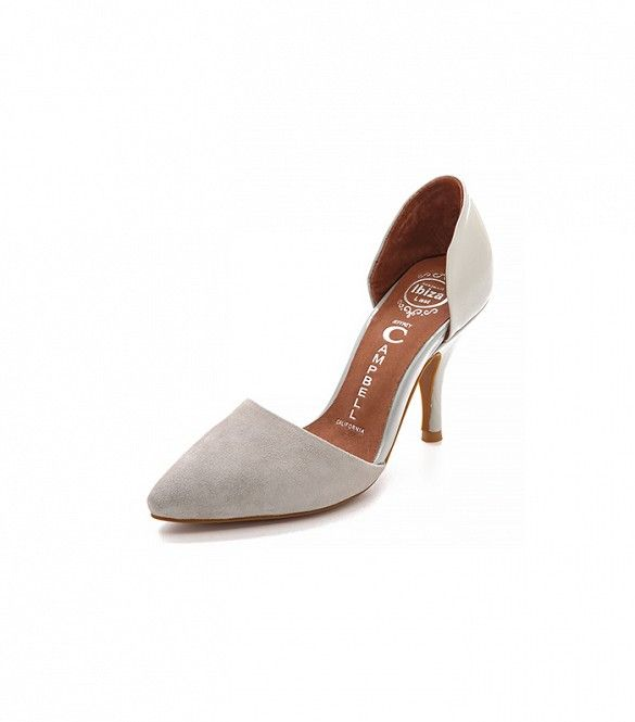 13 Comfortable Heels You Can Wear All Day LongJeffrey Campbell Callista Kitten Heel Pumps ($120)   These will quickly become your office (and after-work) go-to heels.