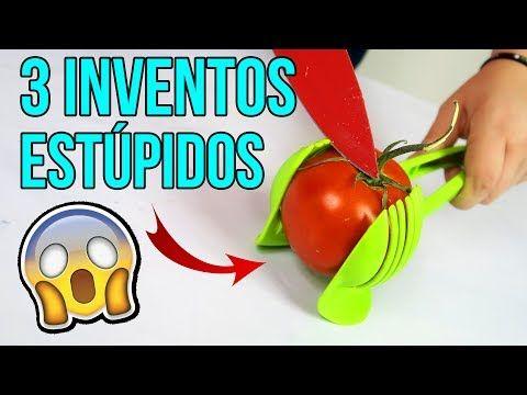 3 inventos MUY ESTÚPIDOS... ¡¡Que te pueden CORTAR!! - VER VÍDEO -> http://quehubocolombia.com/3-inventos-muy-estupidos-que-te-pueden-cortar    INVENTOS ESTÚPIDOS DE COCINA | Hoy os traigo 3 gadgets al canal con los que he tenido problemas con uno de ellos… ya que me he cortado usándolo Sígueme en mis redes sociales 🙂 Instagram: Twitter: Facebook:  Créditos de vídeo a Popular on YouTube – Colombia YouTube channel