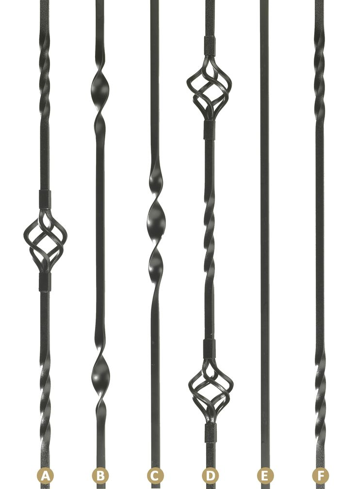 Iron Stair Spindles - Iron Spindles With Loose Brackets - Iron Stair Spindles - Stair Spindles - Stair Fittings and Carpet fittings - Other Hardware - Home & Interiors - Catalogue | Black Country Metal Works
