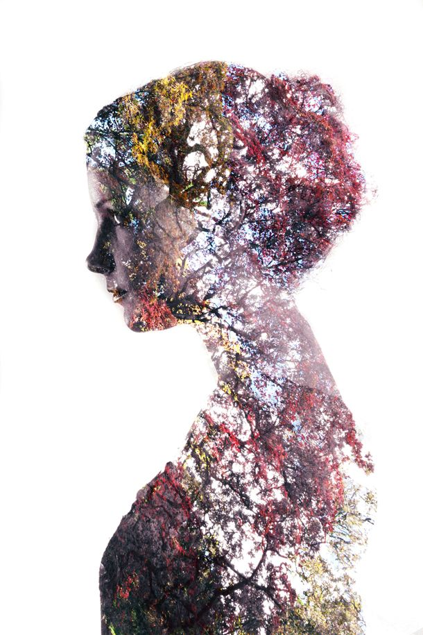 Double exposure portraits: a simple tutorial for making surrealist images: