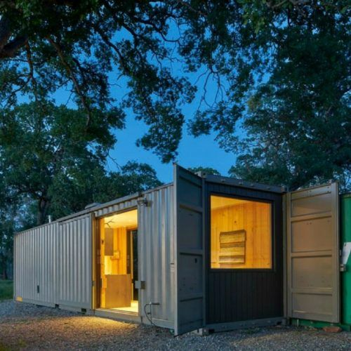 Best 25 shipping container office ideas on pinterest container office container architecture - Off the grid shipping container homes ...