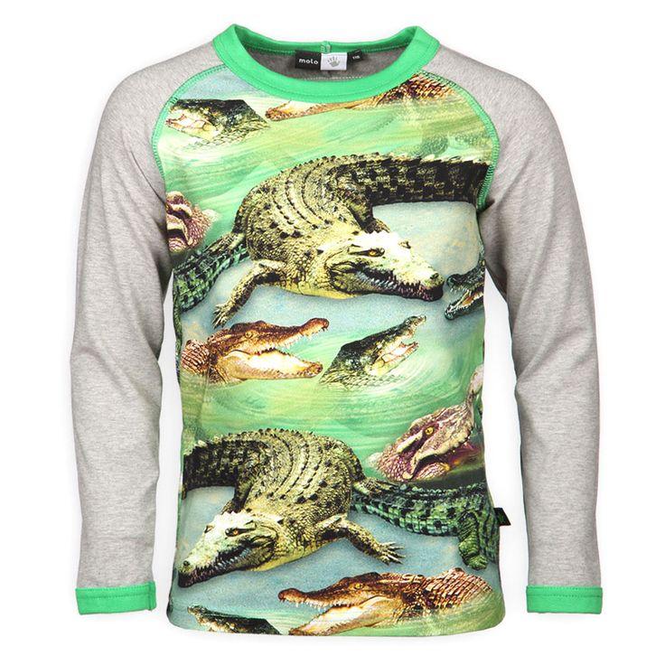 Molo Kids Jongenskleding | Krokodil print | Fashion 2014 | Super Cool | www.kienk.nl
