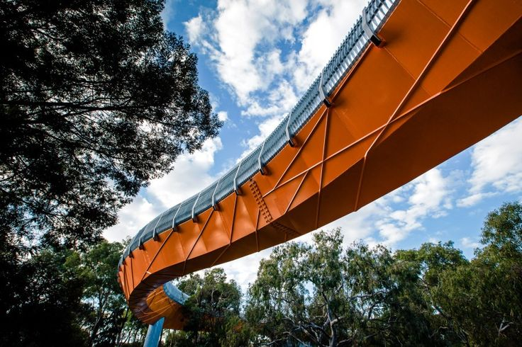Wedge St Pedestrian bridge, Werribee, Australia