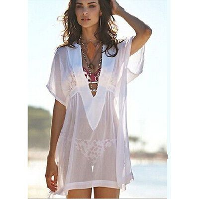 Material: Cotton Material: Polyester Pattern Type: Solid Gender: Women Item Type: Cover-Ups