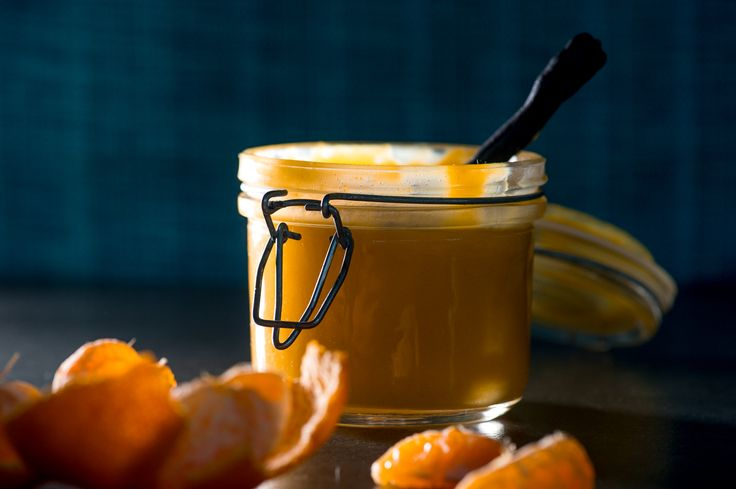 If you love lemon curd, you are in for a treat! This fruity clementine curd has all the sharpness and tang of a lemon curd, but with the extra juicy flavour of a clementine. (In case you're wondering, a clementine is a cross between a naartjie/tangerine and an orange). Just like lemon curd, clementine curd has a host of delicious uses. Although it seems rather liquid when you fill your jars, it sets into a thick, almost custard-like texture – ideal for spreading onto scones or pancakes....
