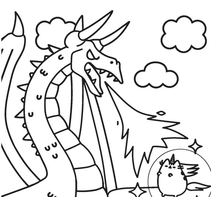 Divine image intended for pusheen coloring pages printable