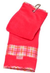 Women's golf accessories and apparel today has come a long way. Recognizing the great need for golf apparel stylish and versatile, manufacturers have given a whole new range of sportswear for women of all lady golfers.  Glove It Ladies Golf Towels - Santa Cruz Code: T193_2014 Price: $15.95 Quantity in Basket: none