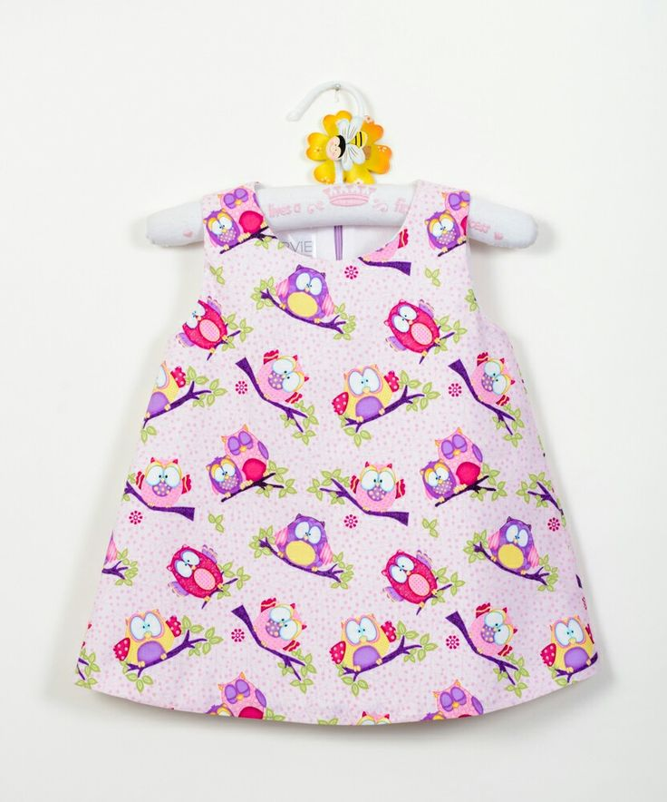 Owl summer kids dress baby girl dress