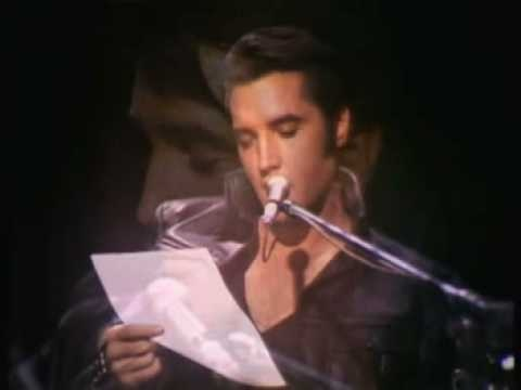Elvis Presley - Are You Lonesome Tonight. Oooh Elvis! This is so beautiful. :)
