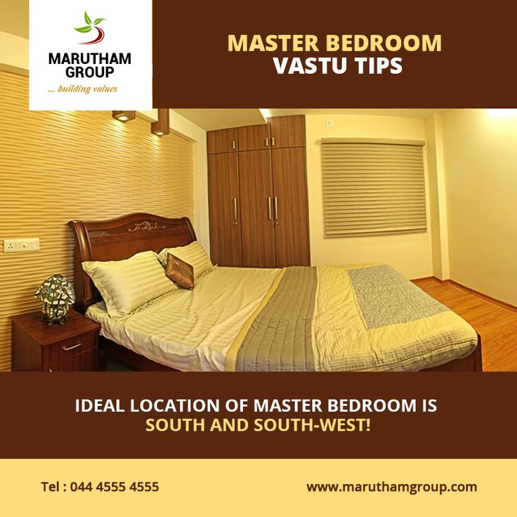 Master Bedroom Vastu Tips The Ideal Location Of A Master Bedroom Is South And South West