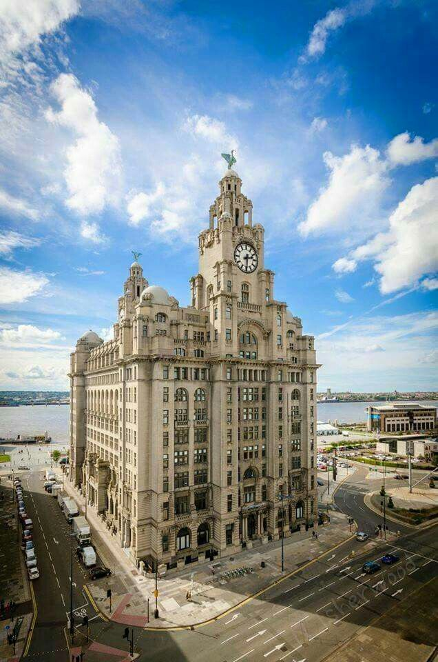 The Liver buildings.