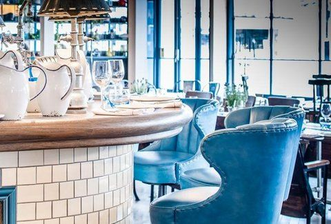 Located in Fitzrovia, the Village East/Garrison team's third drinkery offers three price tiers of small plates (slow-roast lamb shoulder, salt-cod fritters, etc.), plus larger goods like the foie...