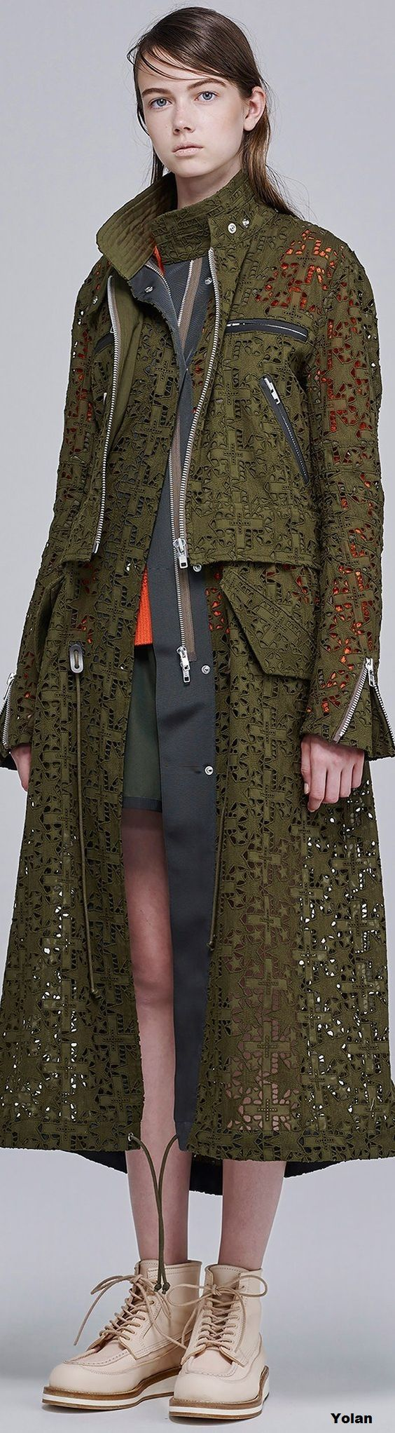 Sacai - Resort 2016