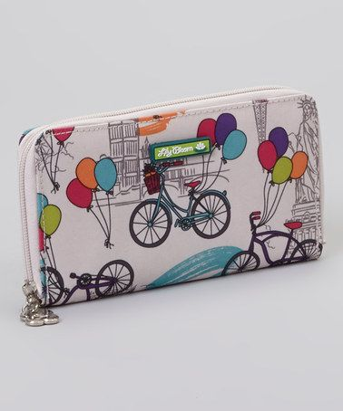 Another great find on #zulily! Up In The Air Zip Around Wallet by Lily Bloom #zulilyfinds