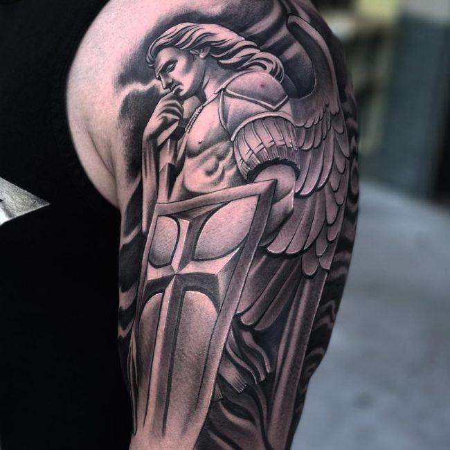 архангел тату фото картинки представляет себя самоходный