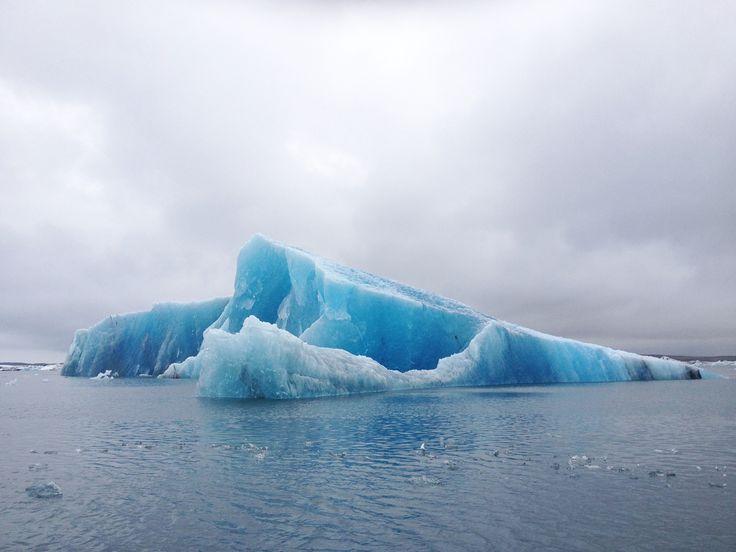 Jökulsárlón glacial lake in Iceland