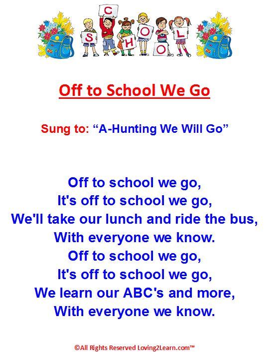 preschool graduation poems and songs best 25 school songs ideas on circle time 211