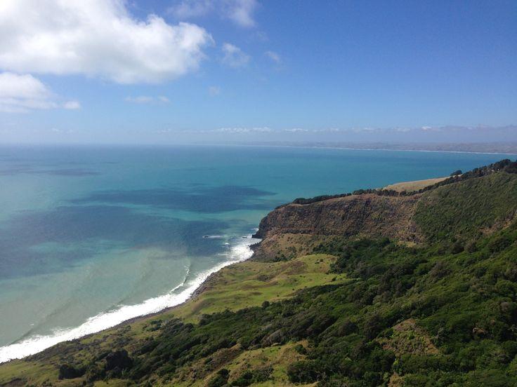 Te Toto Gorge Lookout, Raglan, New Zealand
