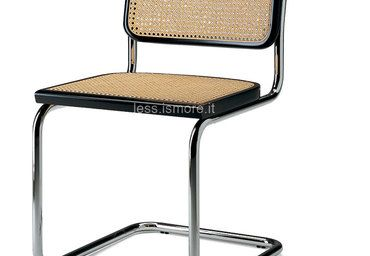 Sedia cesca b 64 marcel breuer 1928 marcel breuer for La sedia nel design
