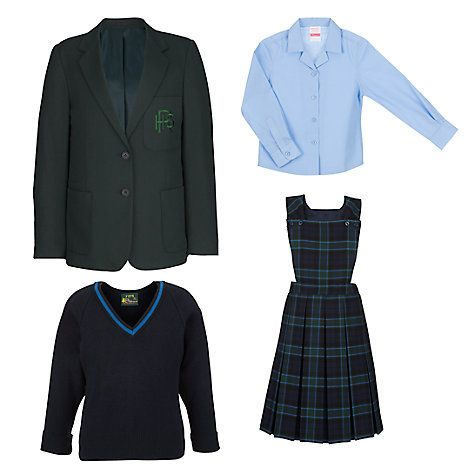 GIRLS KILTS, BLOUSES, BLAZERS & PULLOVERS