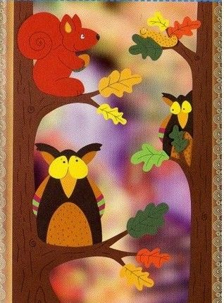 Templates for cute Fall paper crafts