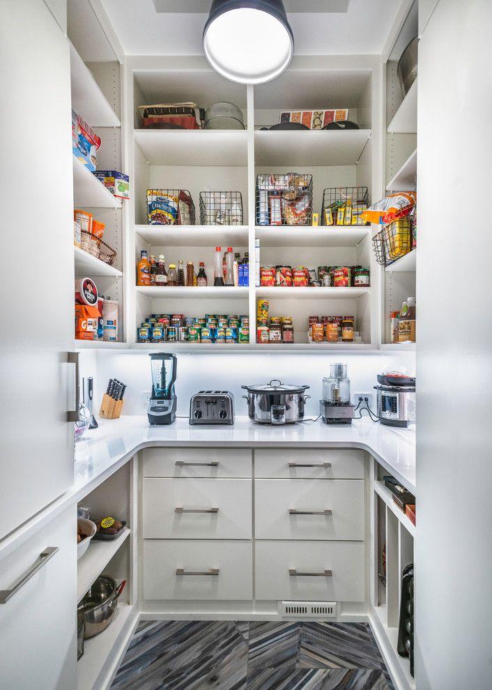 28 Elegant White Kitchen Design Ideas For Modern Home Pantry